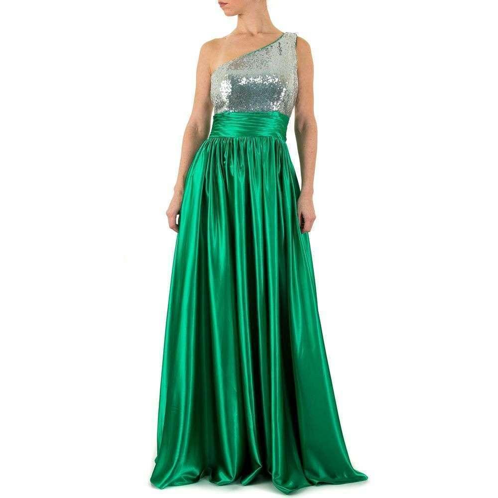 Женское платье от Festamo - green - Мкл-F1291-зеленый
