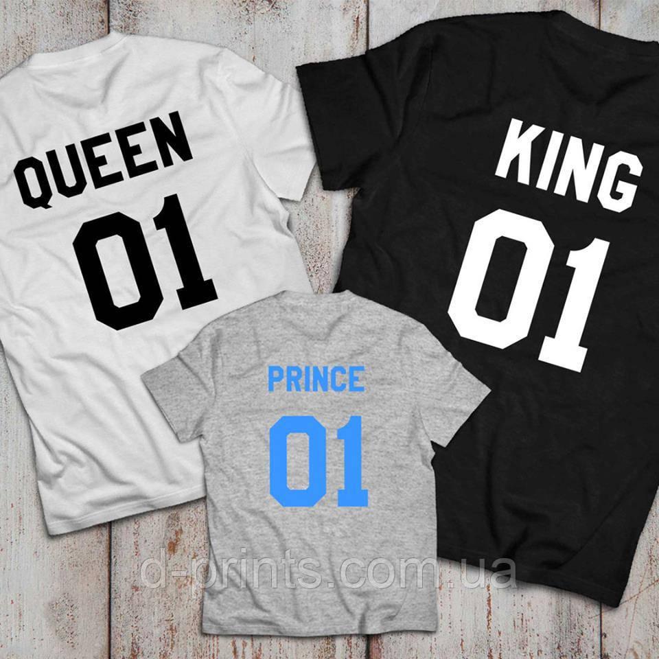 """Семейные футболки """"01"""""""