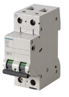Автоматический выключатель Автомат Siemens двухполюсный 5SL4206-7