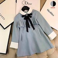 Стильное платье для девочки 5 - 12 лет