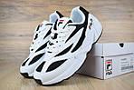 Кроссовки Fila Venom, кожаные, цвет — черный с белым, фото 7