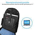 """Рюкзак на колесах для ноутбука Promate Rover-TR 18"""" Black, фото 2"""