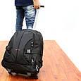 """Рюкзак на колесах для ноутбука Promate Rover-TR 18"""" Black, фото 3"""