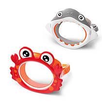 Дитяча маска для плавання і пірнання - маска у вигляді акули, краба, 55915