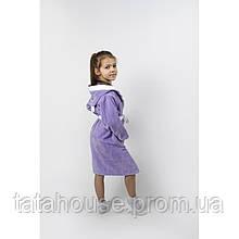 Халат детский Lotus - Зайка новый 5-6 лет (цвета в ассортименте)