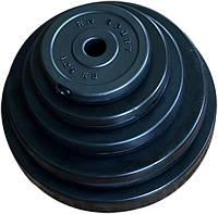 Диски битумные 31 мм (блины в пластиковой оболочке, черные)