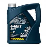 Четырехтактное масло Mannol 4-Takt Agro 4L