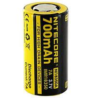 Аккумулятор литиевый Li-lon IMR 18350 Nitecore 700mAh  NL166 3.7V