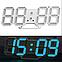 Часы DS-6609-B настольные настенные, фото 2