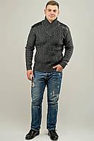 Мужской свитер Леонид (серый), фото 1