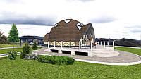 Купольный дом проект