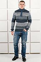 Мужской свитер Амадей планка (синий), фото 1
