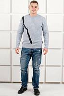 Мужской свитер Андрей (серый), фото 1