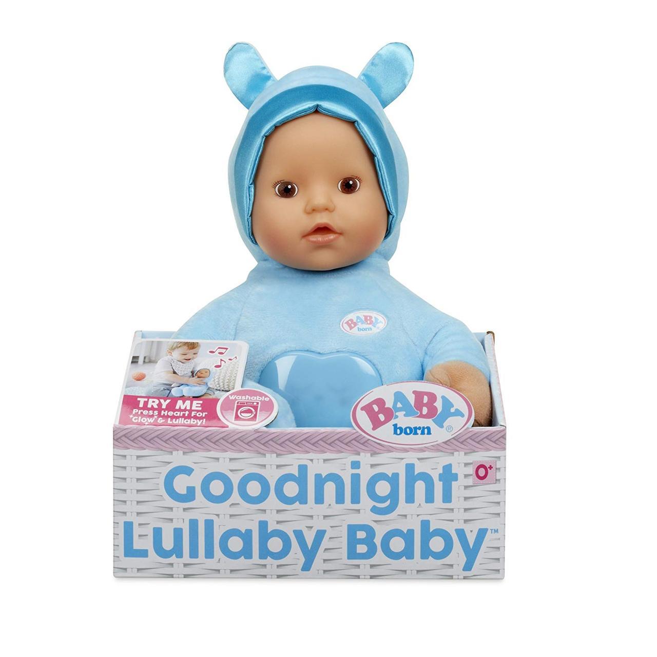 "Музыкальная кукла пупс Беби Берн ""Колыбельная"" Baby Born Goodnight Lullaby"