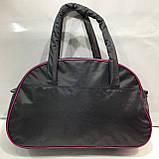 Спортивная сумка Nike серая с розовым, фото 2