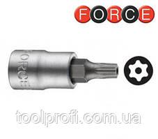 """1/4"""" Головка-бита Torx с отверствием Т10Н, L=32 мм"""