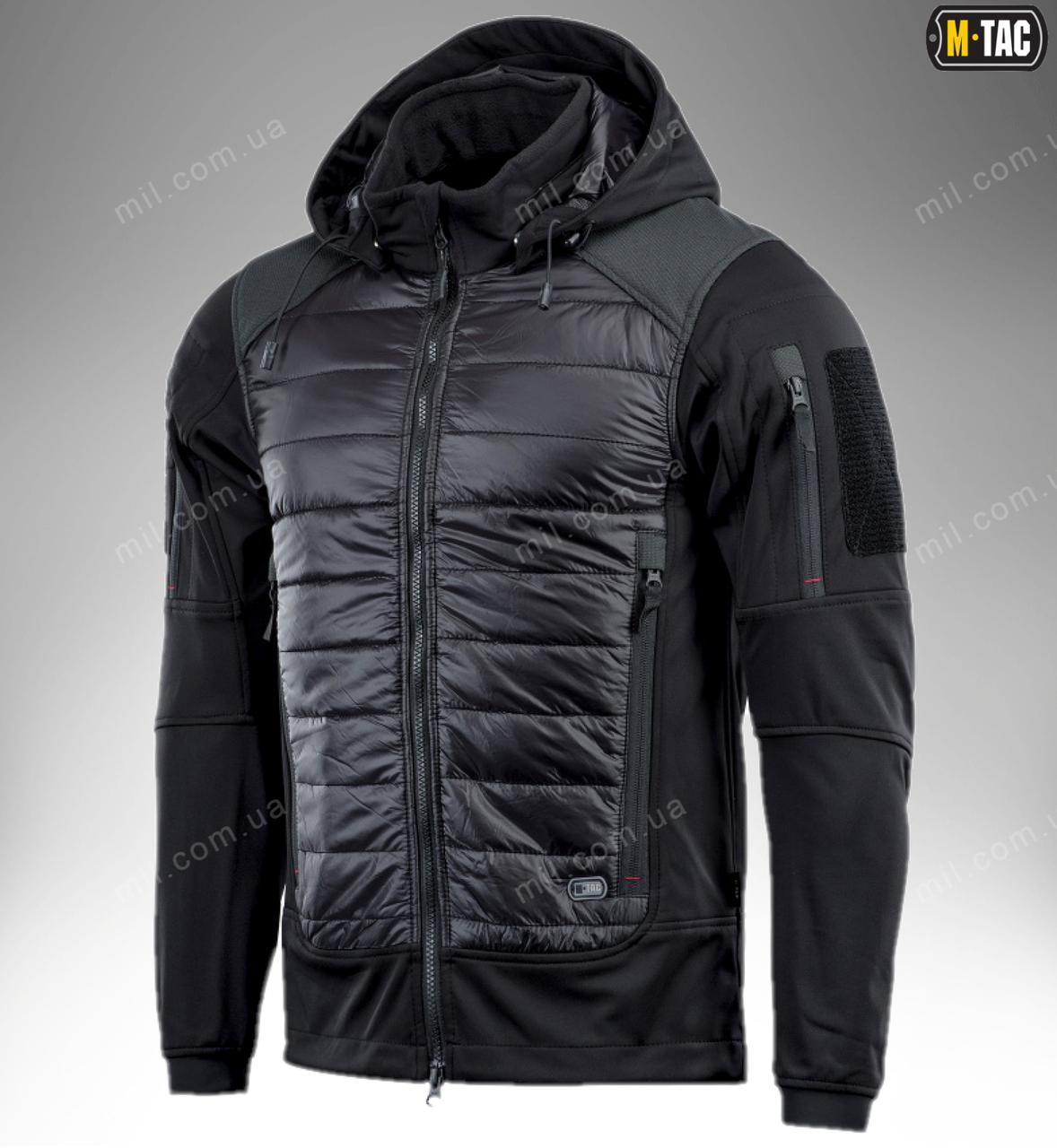 Тактическая Soft Shell куртка WIKING LIGHTWEIGH ( черная )