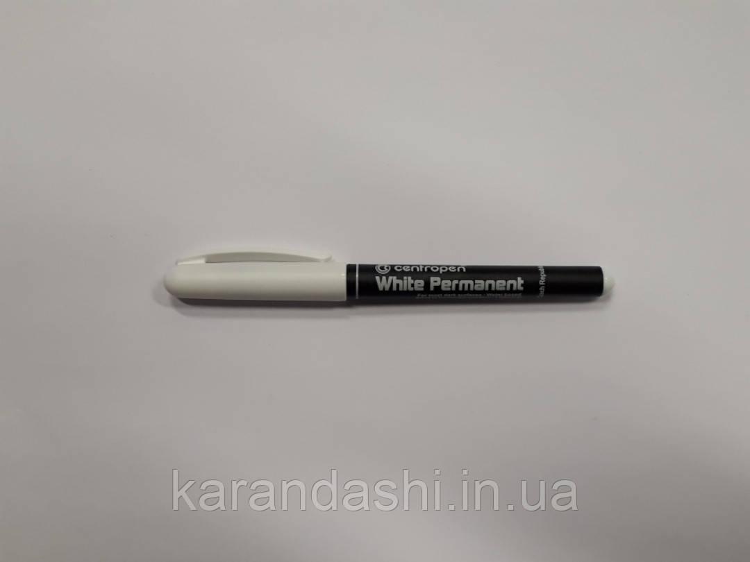 Маркер CENTROPEN 2686 «White Permanent» 1-2 мм