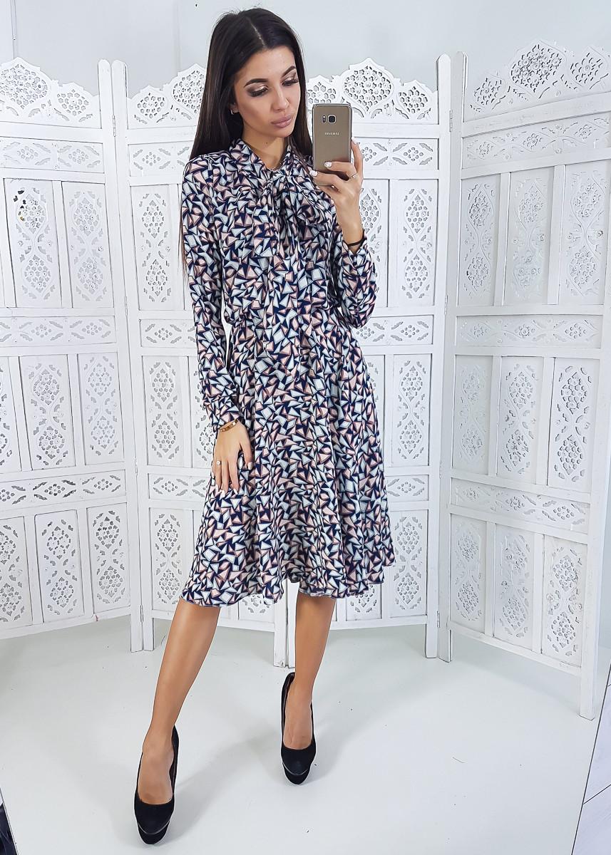 93d597295fc Платье миди с завязкой на шее -1 - Alexa в Харькове