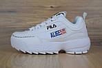 Кроссовки Fila Disruptor 2 x ALIFE, белые, фото 4
