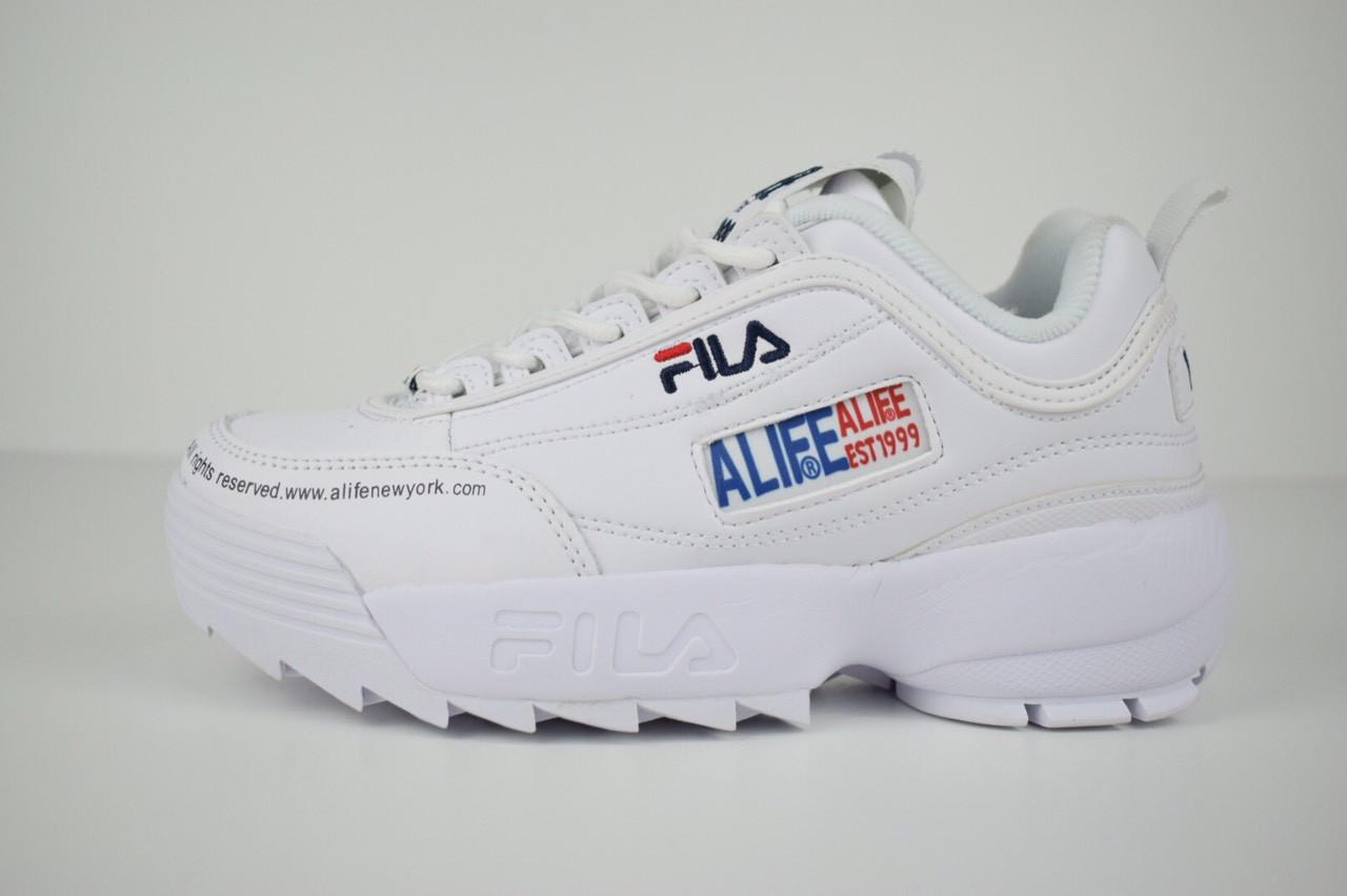 Кроссовки Fila Disruptor 2 x ALIFE, белые
