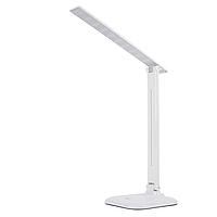 Настольная светодиодная лампа Feron DE1725 9W, белая