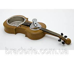 Пепельница Скрипка с зажигалкой 1350
