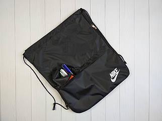 Сумка для обуви с карманом и надписью Nike