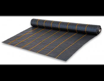 Агроткань от сорняков PP, черная UV, 90 гр/м² размер 1,1м*100м