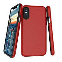Накладка для iPhone 7/iPhone 8 пластик 2E Triangle Red