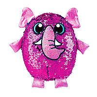 Мягкая игрушка с пайетками Shimmeez S2 - Слон Пинки 20 см (SH01053E)