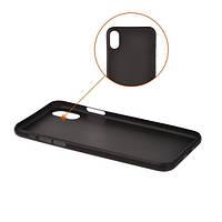 Накладка для iPhone X/iPhone XS пластик 2E UT Case Black