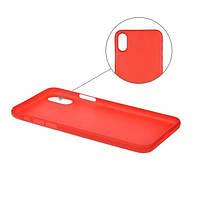 Накладка для iPhone X/iPhone XS пластик 2E UT Case Red