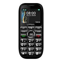 Мобільний телефон Sigma mobile Comfort 50 Grand Black (Sigma mobile Comfort 50 Grand black)