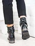 Ботинки Patrick черная кожа 6703-28, фото 3