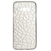 Накладка для Samsung G955 Galaxy S8+ силікон 2E Diamond TR Black