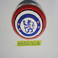 Мяч футбольный Grippy SemiDull YW, Chelsi, красно-бело-синий, р. 5, не ламинированный