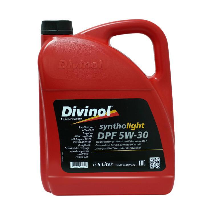 DIVINOL Syntholight DPF 5W-30 (кан,4литр)