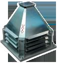 Вентиляторы крышные, радиальные, с выходом потока в сторону, КРОС