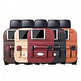 Soolu Авто Органайзер на спинку сидения в автомобиль коричневый. Аксессуары для авто, фото 4