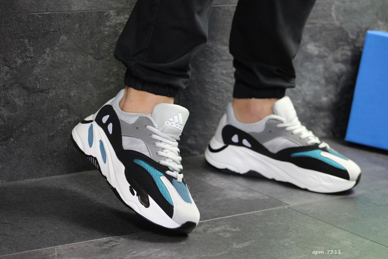 purchase cheap b567e 849d7 Купить Мужские кроссовки Adidas x Yeezy Boost 700 OG (Серо-черные) в Киеве  от компании