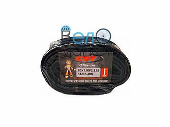 Камера CST 24х1,90/2,125 (51/57-507) AV 35 мм / прямой штуцер  для детских велосипедов