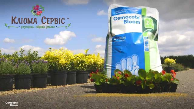 Удобрение Osmocote Bloom 2-3 м 25 кг