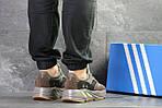 Мужские кроссовки Adidas x Yeezy Boost 700 OG (Серо-коричневые), фото 2