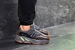 Мужские кроссовки Adidas x Yeezy Boost 700 OG (Серо-коричневые), фото 4