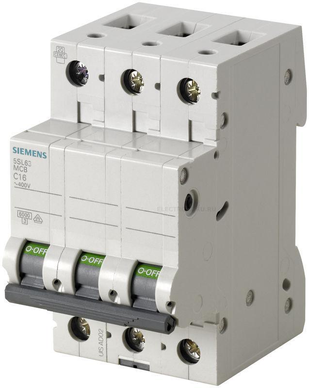 Автоматический выключатель Siemens 5SL6304-7
