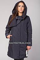Пальто женское стильное с бантом Snow beauty 9093