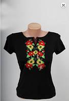 Вышиванка  футболка  женская  трикотаж 837 ( С.Е.С.)