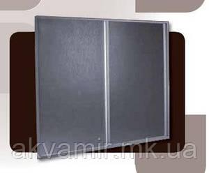 Штора на ванну из полистирола (2-створки) 160х140 см