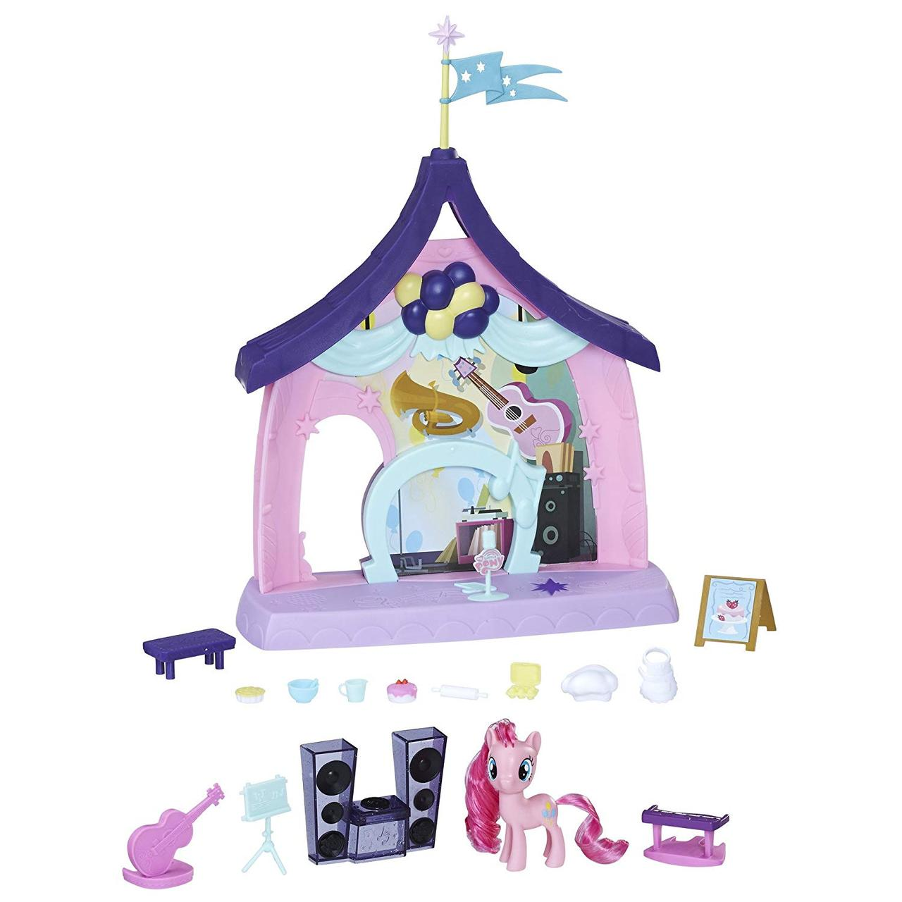 Игровой набор My Little Pony Пинки Пай Музыкальная Школа Pinkie Pie Beats Treats Magical Classroom